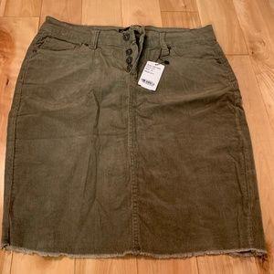 Cute Corduroy Skirt- 12